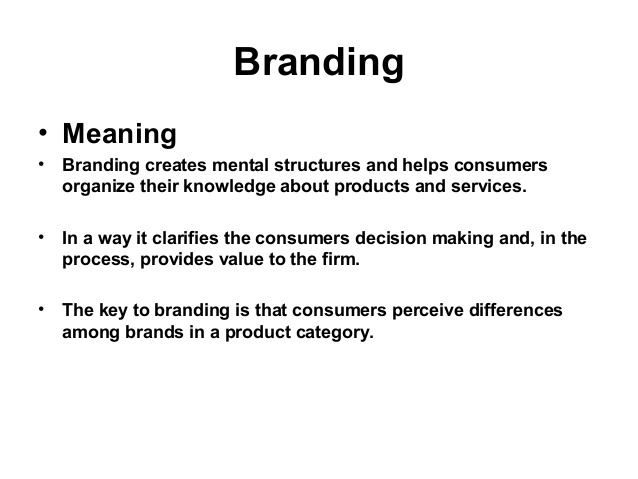 """performance"" (what your brand means) and ""imagery"" (what your brand stands for)"