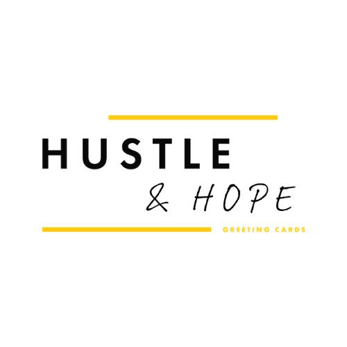 Hustle & Hope Greeting Cards